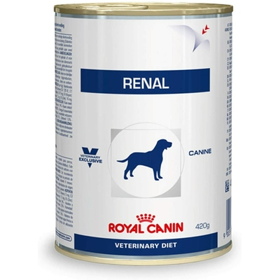Royal Canin Veterinary diet dog renal boite