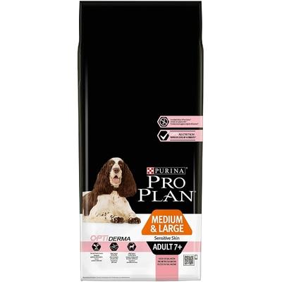 Croquettes Proplan Medium & Large Adult 7+ Sensitive Skin Saumon