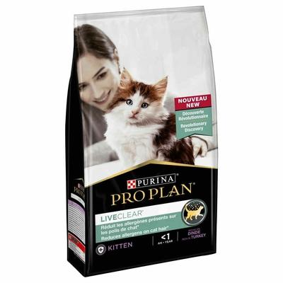 Croquettes Pro Plan - LiveClear Kitten Stérilisé Dinde - 1,4Kg