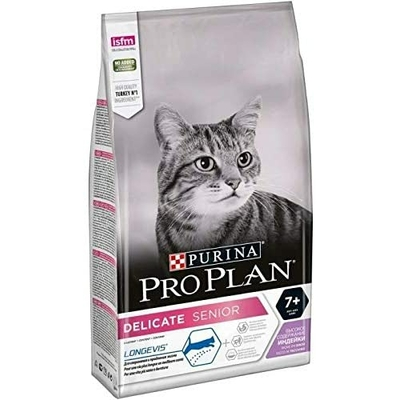 Croquettes Purina ProPlan Chat Delicate Senior Longevis Dinde