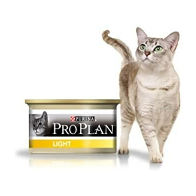 Purina Proplan Chat Adulte Light Dinde 24 x 85 grs