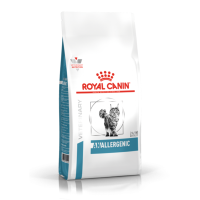 Croquettes Royal Canin Veterinary diet cat anallergenic