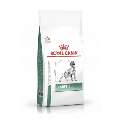 Croquettes Royal Canin Veterinary diet dog diabetic