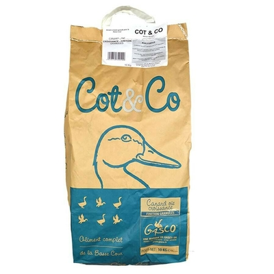 GASCO - Alimentation Granulé pour Canard et Oie
