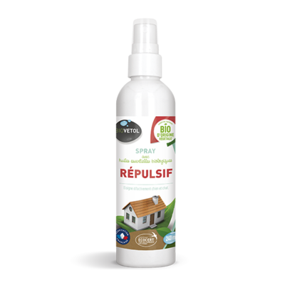 GASCO BIOVETOL- Spray répulsif chien chat 240ml