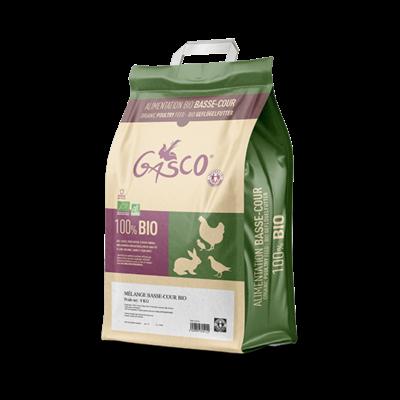 GASCO - Alimentation mélange basse cour BIO