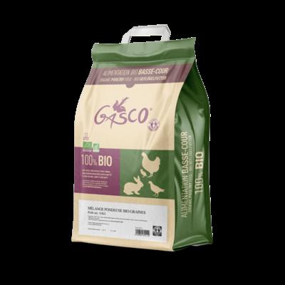 GASCO - Alimentation mélange poule pondeuse BIO