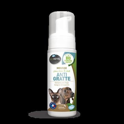 GASCO- BioVetol - Mousse anti gratte chien chat 125ml