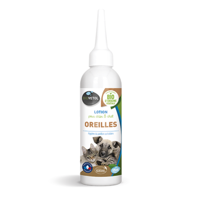 GASCO- BioVetol - lotion oreilles chien chat 125ml