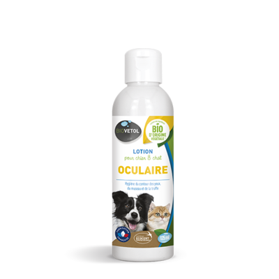 GASCO - BioVetol - lotion oculaire chien chat 125ml
