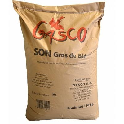 GASCO - Son de blé 20kg