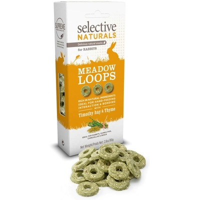 Supreme Petfoods Selective - Friandise Meadow Loops pour Lapin