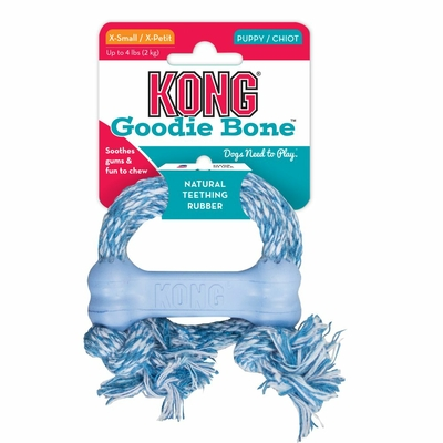 Kong Puppy Goodie with Rope