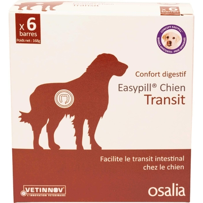 EASYPILL TRANSIT CHIEN         b/6*28 g  barres