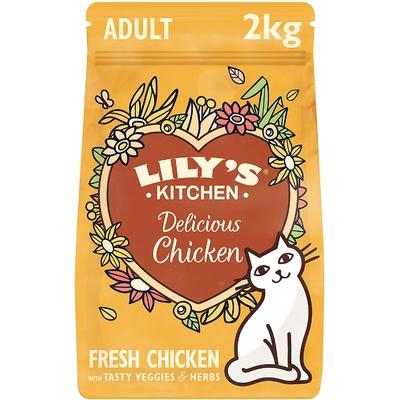 Lily's - Croquette sans céréales chat Adulte Poulet