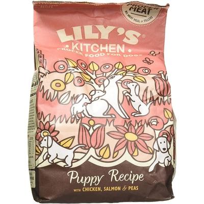 Lily's - Croquette sans céréales pour chiots - Poulet et Saumon
