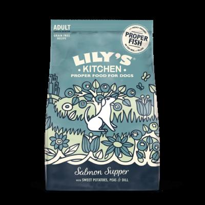 Lily's - Croquette sans céréales chien Saumon pomme de terre
