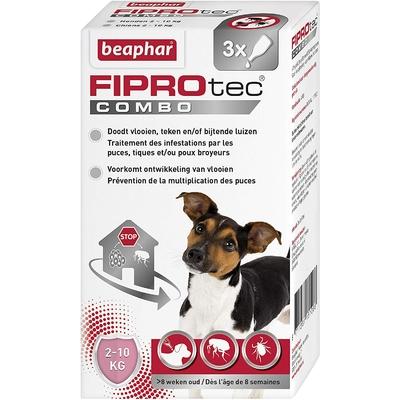 Beapher - FIPROtec - pipettes antiparasitaires - petit chien (5-10kg)