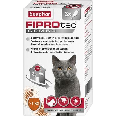 Beapher - FIPROtec - Combo Spot-On - Chat et Furet