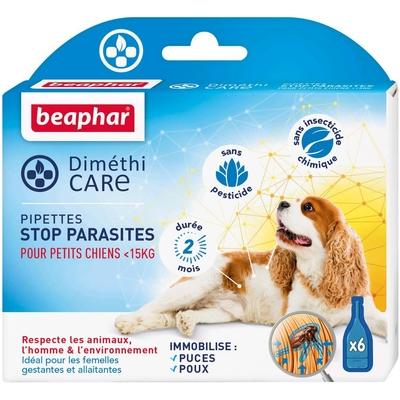 BEAPHAR – DIMÉTHICARE – Pipettes stop parasites pour petit chien - <15kg