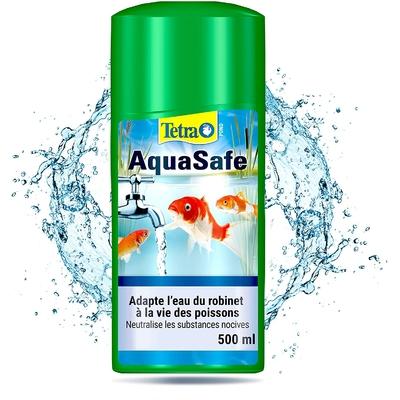 Tetra Pond AquaSafe – Conditionneur d'Eau pour Bassin
