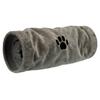Trixie Tunnel de jeu, peluche gris noszanimos.com
