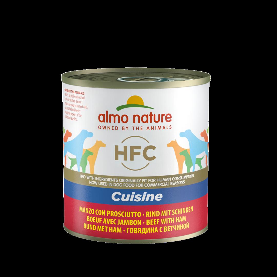 Almo Nature HFC Cuisine Boeuf et Jambon noszanimos