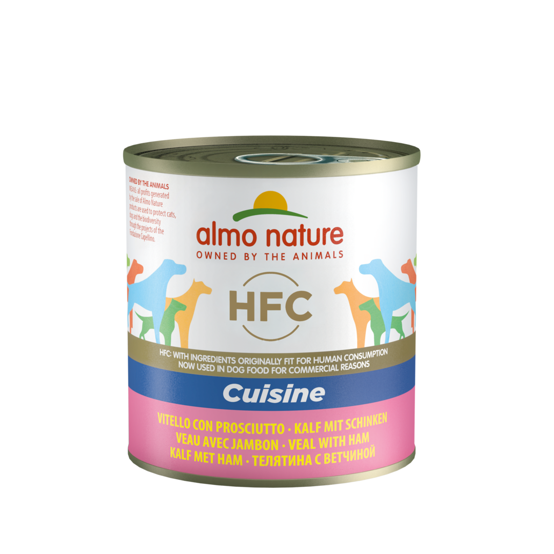 Almo Nature - HFC Alternative - Veau et Jambon- Boite de 290g noszanimos