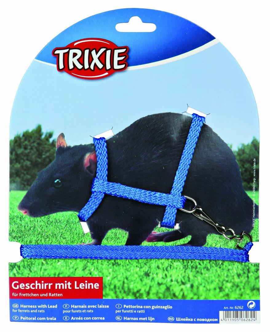 Trixie Harnais avec laisse pour furets et rats  noszanimos