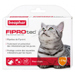 BEAPHAR FIPROTEC CHAT pipettes anti puces noszanimos