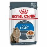 Royal Canin Ultra light  en gelée - Lot 12 x 85g