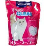 Vitakraft - Litière Magic Clean 8 Semaines pour chat - 8,4L Noszanimos