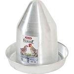 zolux abreuvoir aluminium pour poules elevage basse cour  noszanimos