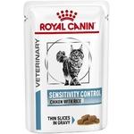 Royal Canin Veterinary diet cat sensitivity poulet NosZanimos
