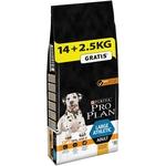 Croquettes Purina ProPlan Chiens Adultes athlétiques de Grande Taille  Poulet 14kg + 2,5kg NosZanimos