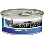 Purina ProPlan Adult 7+ Mousse au Thon pour Chat Senior 85 g - Pack de 24  NosZanimos