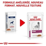 Royal Canin Veterinary diet dog renal  - 12 sachets 150gr ancien NosZanimos