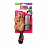 Kong Rechargeables Beaver Jouet à Herbe à chat NosZanimos 2