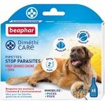 BEAPHAR – DIMÉTHICARE – Pipettes stop parasites pour grand chien (30kg) NosZanimos