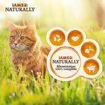 IAMS Naturally - Sachets pour chat Senior Terr  Mer  12 x 85g NosZanimos 3