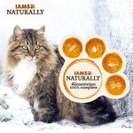 IAMS Naturally - Sachets pour chat Senior Terr  Mer  12 x 85g NosZanimos 2