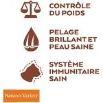Natures Variety - Croquettes pour chat Original Sterilized au Saumon 4