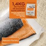 Natures Variety - Croquettes pour chat Original Sterilized au Saumon 2