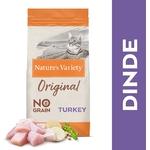 Natures Variety - Croquettes pour chat Original Stérilisé - Dinde 1