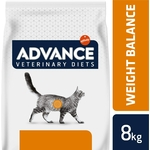 ADVANCE Veterinary Diets - Croquette pour Chat Weight Balance - 8kg a