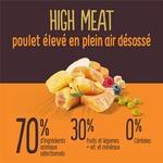 True Instinct  - Croquettes pour Chien  Junior  High Meat  Poulet- 2kgc