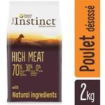 True Instinct  - Croquettes pour Chien  Junior  High Meat  Poulet- 2kga