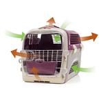 Catit – Cage de Transport Cabrio pour Chat, Rouge Cerise 4