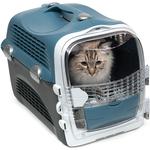 Catit – Cage de Transport Cabrio pour Chat, Bleu Gris