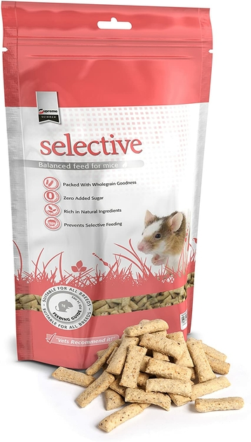 Supreme Petfoods Granules pour Souris NosZanimos